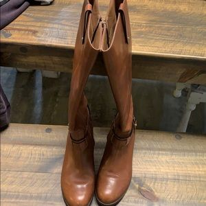 Franco Sarto y'all leather boots